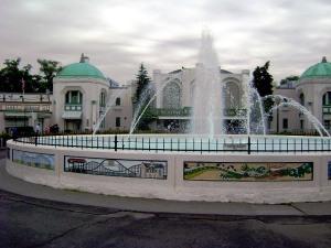 Rye Playland's Fountain Plaza Photo by: Pamela Stern