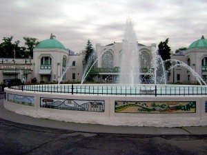 Rye Playland's Fountain Plaza