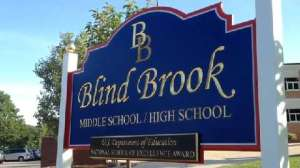 Blind Brook Middle School and Blind Brook High School Photo courtesy of: Blind Brook-Rye Union Free School District
