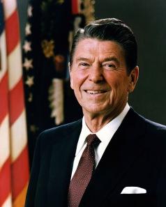Former President Ronald Reagan Photo courtesy of: en.wikipedia.org
