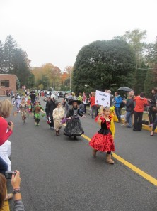 Midland School's Halloween parade 2013. Photo courtesy of: Sarah Derman