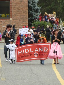 Midland School Halloween parade. Photo by: Sarah Derman